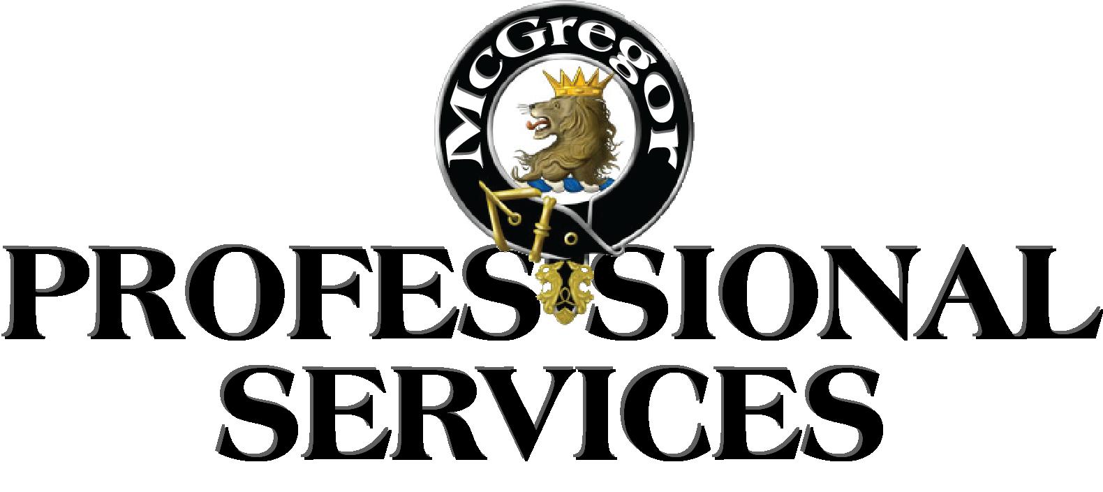 Mcgregor professional service