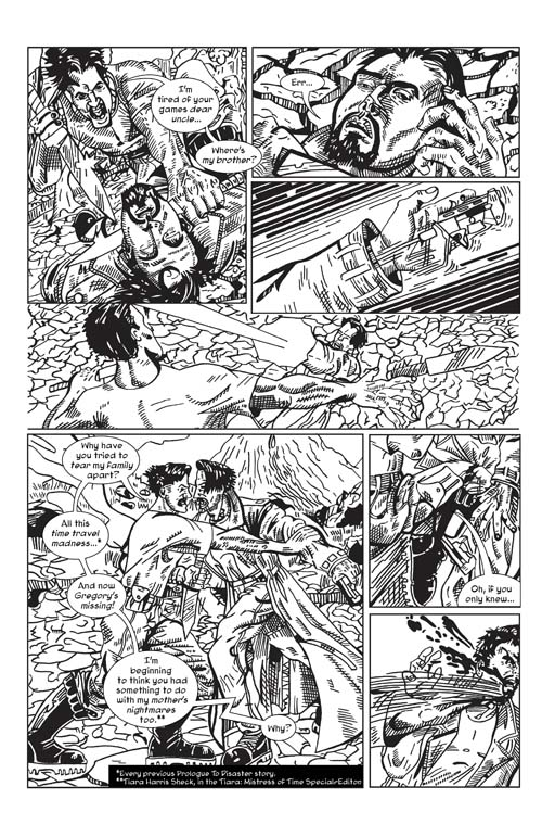 Urde Selfish Ways Page Two Inked lettered s