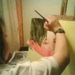 painting, Jessica