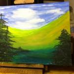 painting, Climb